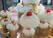 Mixed Fruit Cupcake