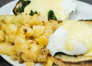 PGs Famous Eggs Benedict