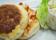 on our House Made English Muffin